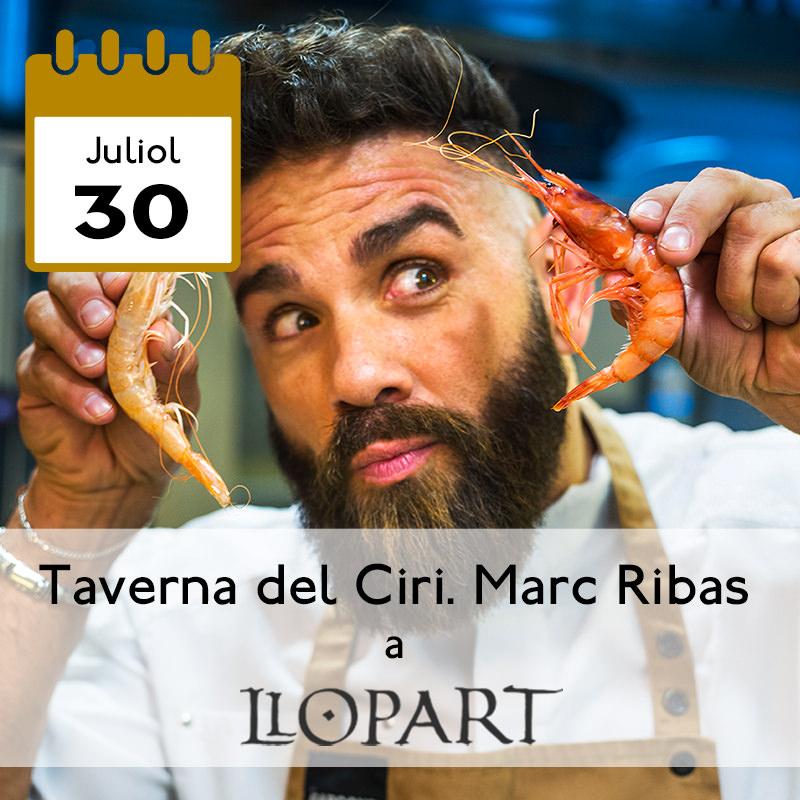 Taverna del Ciri. Marc Ribas a Llopart