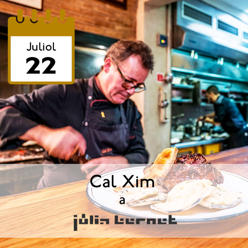 Cal Xim a Júlia Bernet