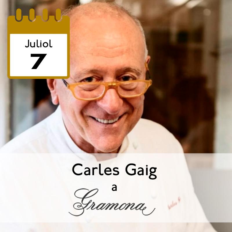 Carles Gaig a Gramona