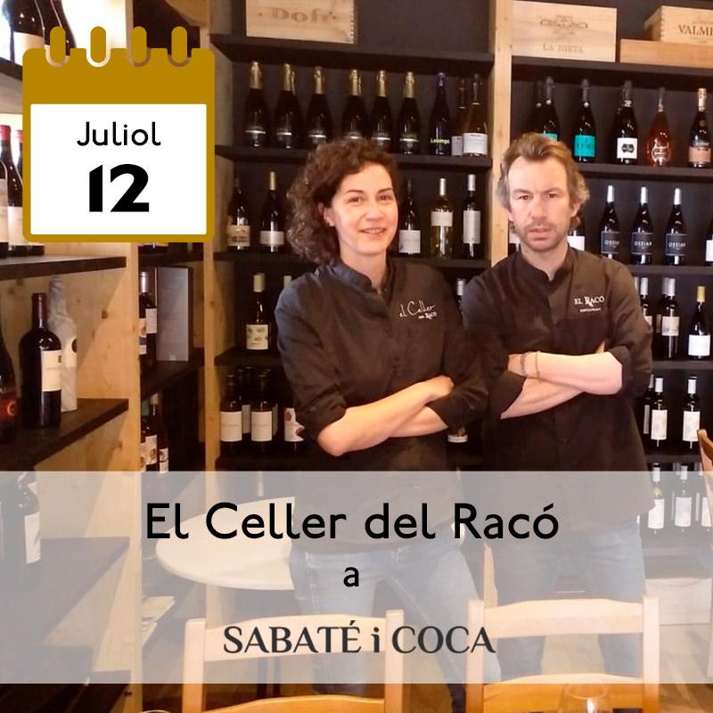 El Celler del Racó a Sabaté i Coca