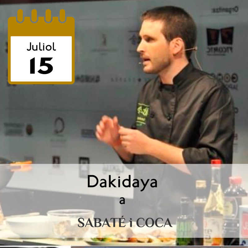 Dakidaya a Sabaté i Coca