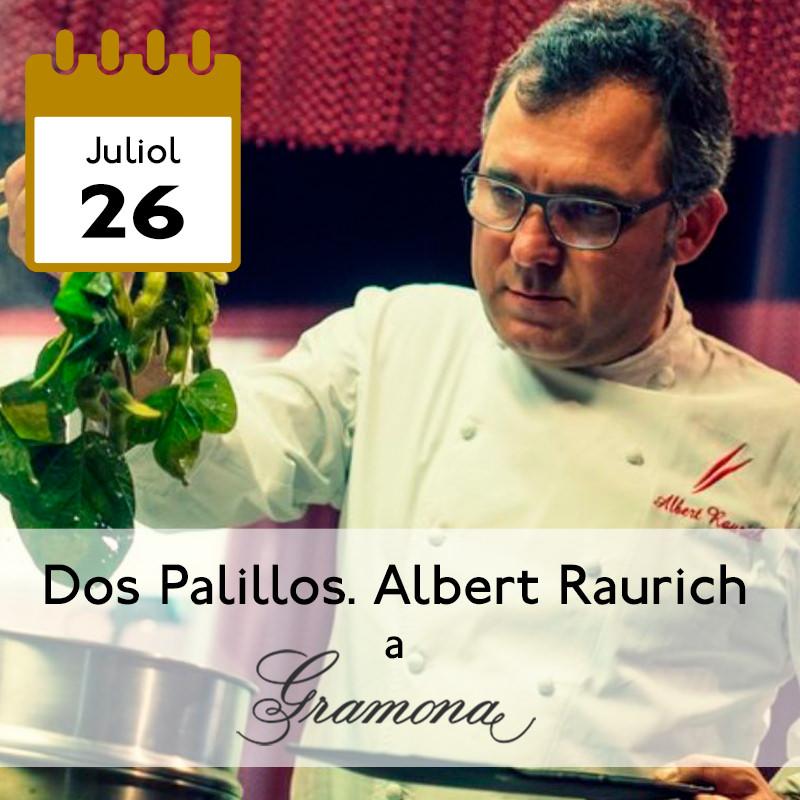 Dos Palillos. Albert Raurich a Gramona
