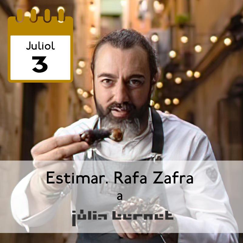 Estimar. Rafa Zafra a Júlia Bernet