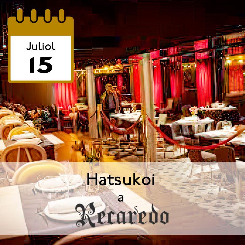 Hatsukoi a Recaredo