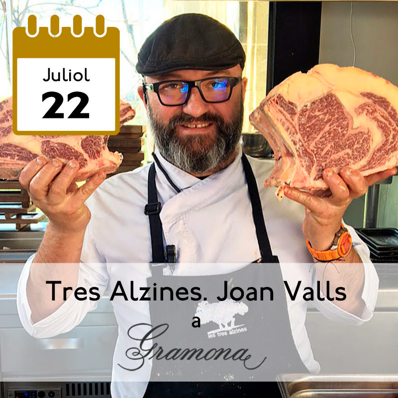 Tres Alzines. Joan Valls a Gramona